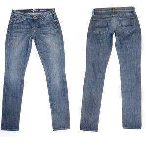 7 For All Mankind 7FAMK Roxanne Skinny Jeans NWOT